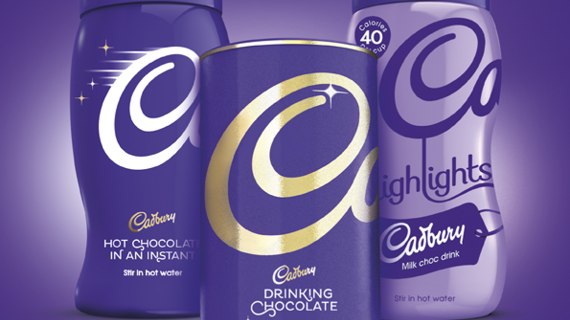 A Bold New Design For Cadbury Hot Chocolate Packaging World