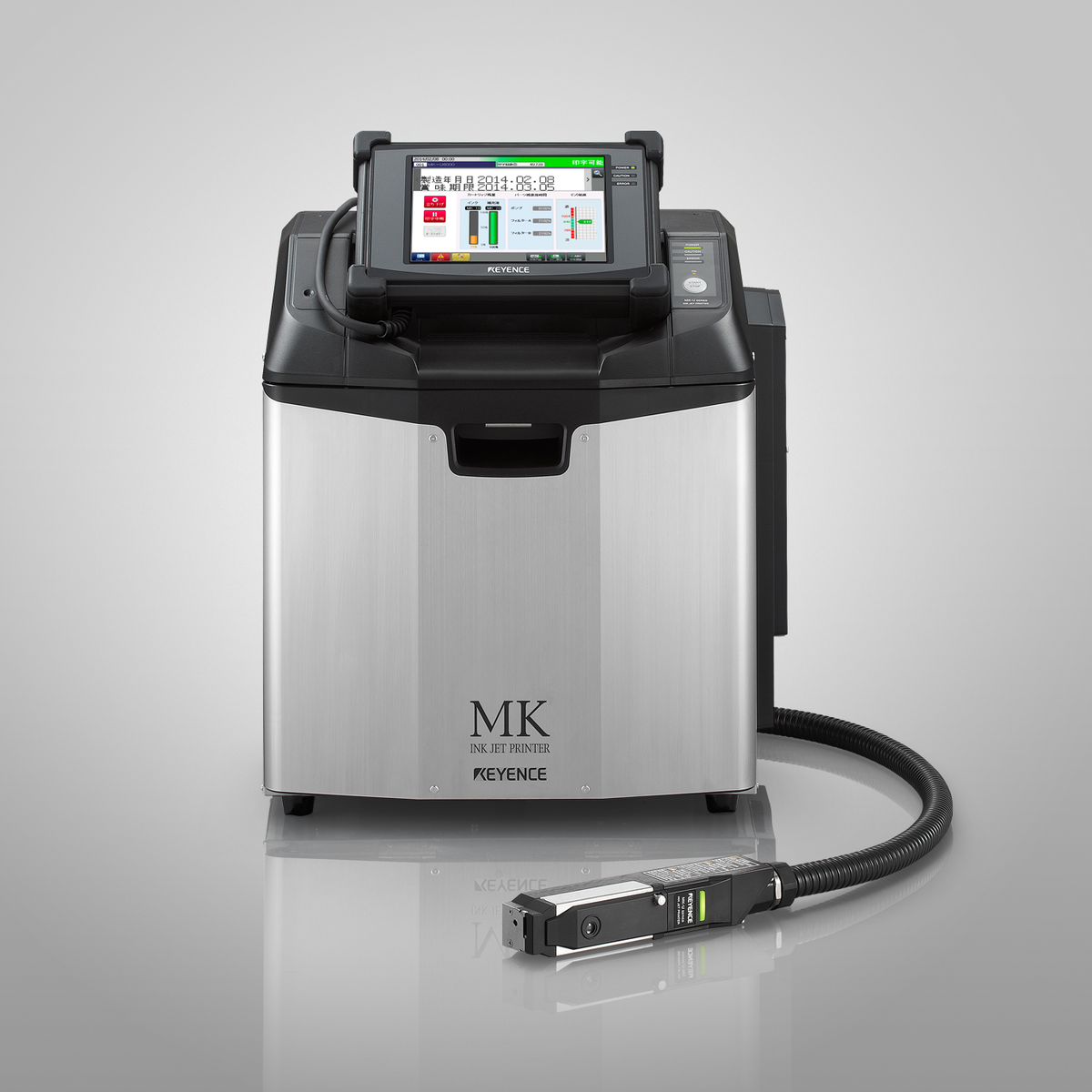 Keyence: Universal Ink-jet Printer From: Keyence Corp. Of