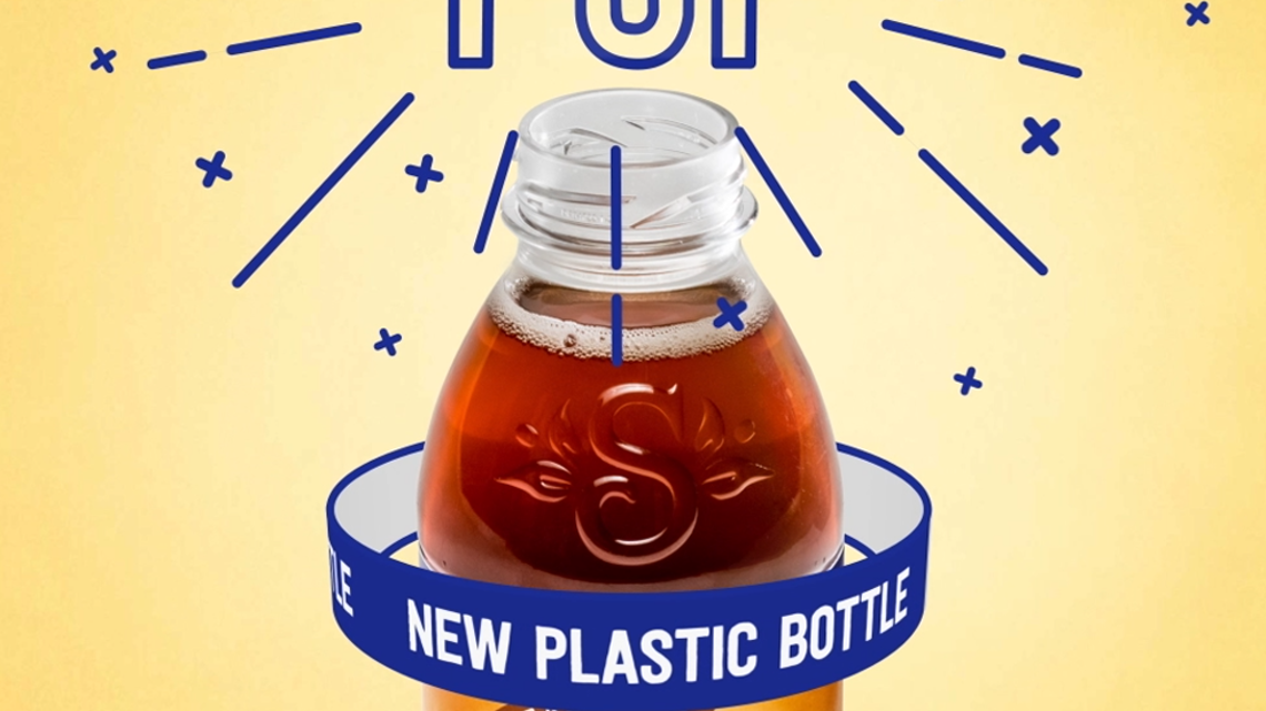 Snapple Switches To Pet But Keeps The Shape Cap And Pop