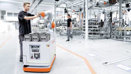 Mobile and Collaborative Robots Ratchet Up Flexible