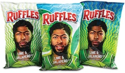 GOLD AWARD—Packaging Excellence—Ruffles® Lime and Jalapeño Anthony Davis Bags by Printpack